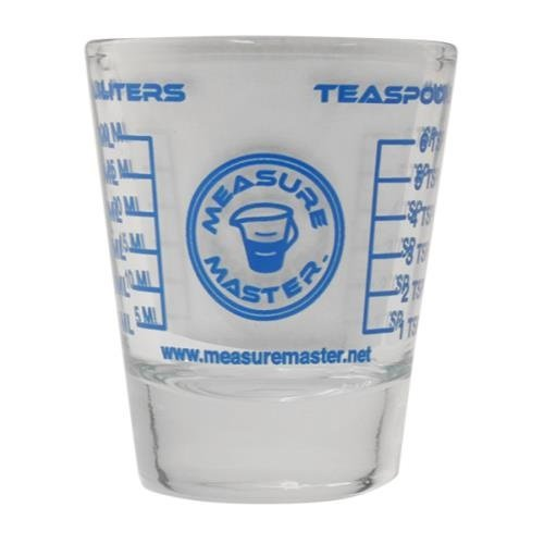 (Measure Master Sure Shot Measuring Glass 1.5 oz (12/Cs))