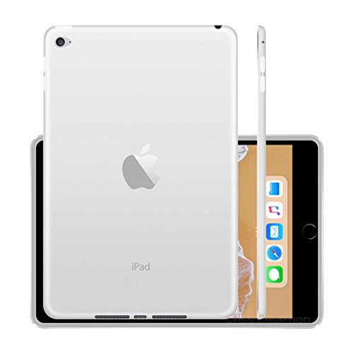 Case Creation Back Cover for Apple iPad Mini 4  Transparent