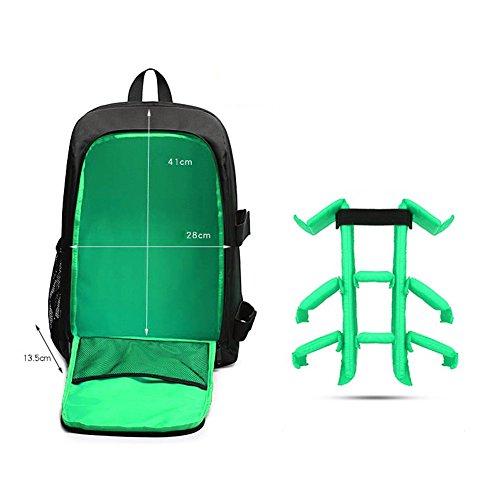 Verde Aire Multifuncional Portátil Bolsa Amazingdeal365 Libre Impermeable Al Mochila Cámara verde vxITw5aqT