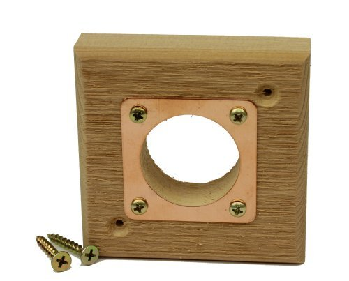 Eastern Bluebird Nest - Kettle Moraine Replacement Predator Guard with Copper Portal for Eastern Bluebird Houses 1 1/2