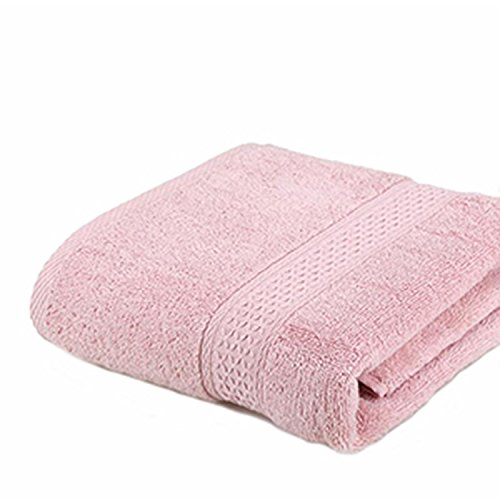 shine-hearty 100% Cotton Solid Bath Towel Beach Towelts Fast