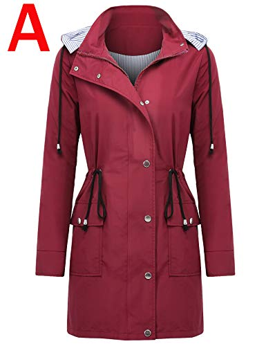 dcba7ac483c SHOPUS | ZEGOLO Raincoat Womens Hooded Waterproof Active Outdoor ...