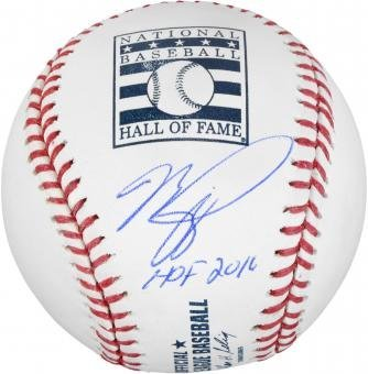 SPImages AUPIAZZABBHOF Mike Piazza Hall of Fame Logo Baseball by SPImages