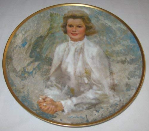 Princess Grace Thornton Utz Hamilton Collector - Collector Plate Grace
