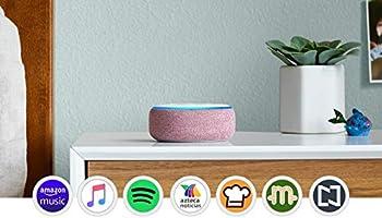 Echo Dot (3ra generación) - Bocina inteligente con Alexa - Granate