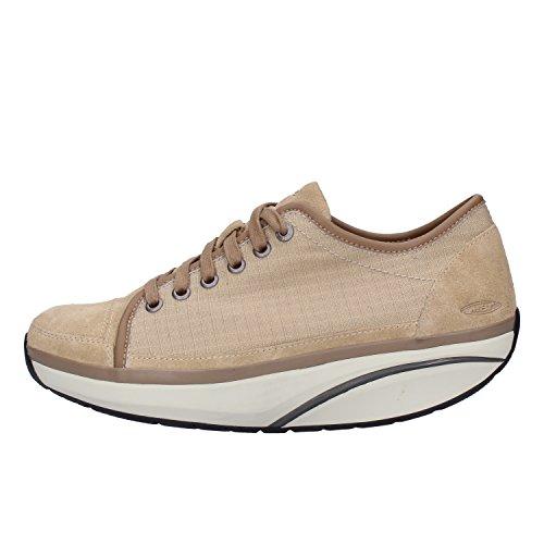 Mujer Sneakers Textil Mbt Mujer Beige Sneakers Mbt Beige Textil qwpytScX
