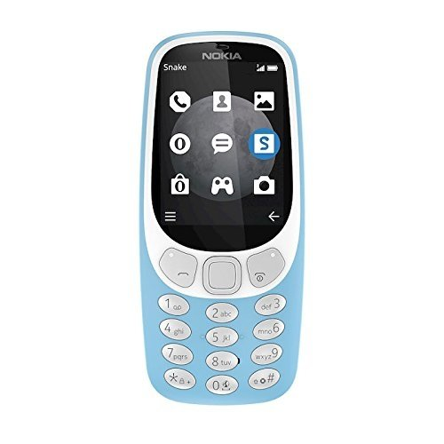 Nokia 3310 3G – Teléfono móvil, memoria interna de 64 MB, camara de 2MP, color azul
