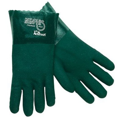 - Premium Double-Dipped PVC Gloves - 14