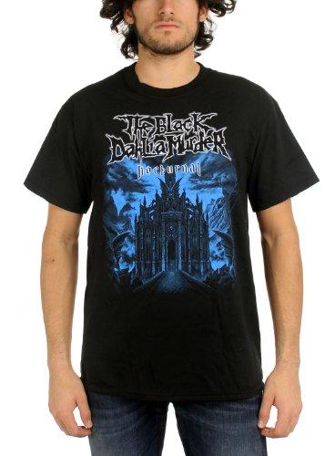 (Black Dahlia Murder The Mens Nocturnal T-Shirt in Black, Large,)
