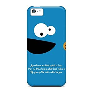 Personality customization New High-end Custom Super Strong Give Up Last Cookie Case Cover For Iphone 5c At PLUS6A case