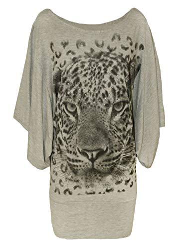 4 21fashion camiseta mujer impresa p de manga 3 ZUFUT