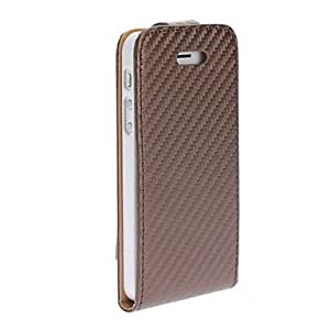 Protective Oblique Grain Flip-Open PU Leather Case for iPhone 5/5S 00681917