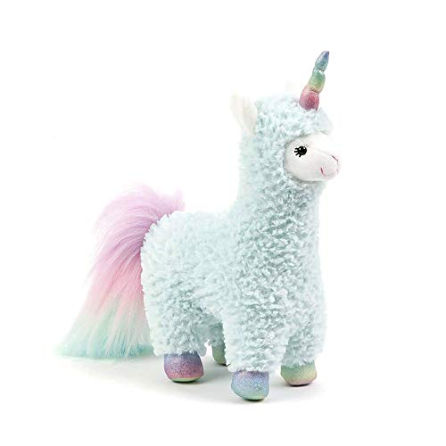 GUND Cotton Candy Plush Stuffed Llamacorn 11