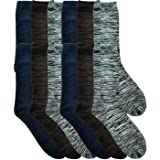 Swan 2191500 Mens Marled Dress Socks44; Size 10 - 13