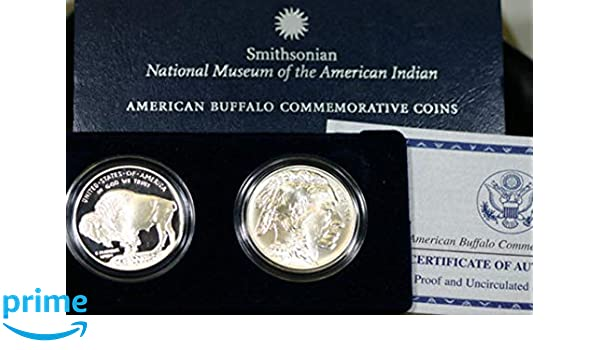 2001 American Buffalo Commemorative 2 Coin Set in OGP with COA