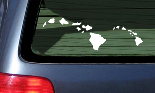 Hawaiian Island Chain Vinyl Sticker