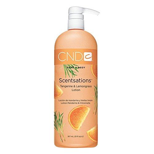 CND Scentsations Hand & Body Lotion, Tangerine & Lemongrass, 8.3 oz. Body Scentsations Lotion