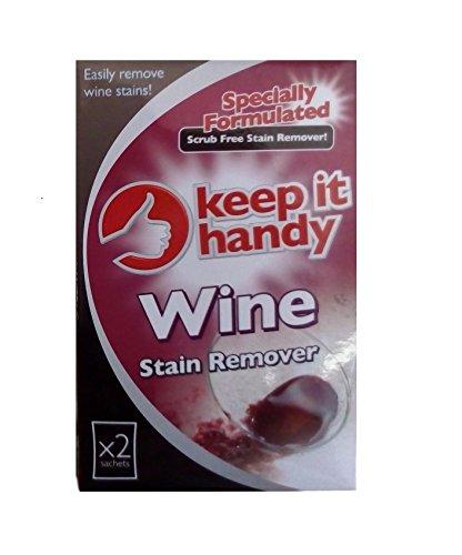 Ducomi® Quitamanchas de bolsas para vino rojo, Vino Blanco Y Manchas resistentes sin strofinare