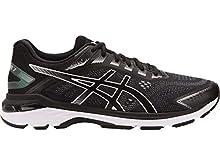ASICS Men's GT-2000 7 Running Shoes, 8M, Black/White