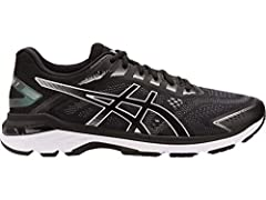 Bring bounce to your runs with the men's GT-2000 7 running shoe. Specifically designed to help you go further than you ever thought possible, this ASICS shoe is equipped for big mile runs, providing guidance and comfort each step of the way. ...