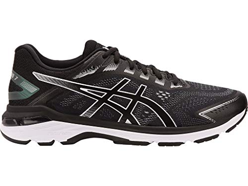 ASICS Men's GT-2000 7 Running Shoes, 13M, Black/White