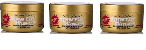 Price comparison product image Soft Sheen Sportin Waves Maximum Hold Pomade 3.5oz (3 Pack)