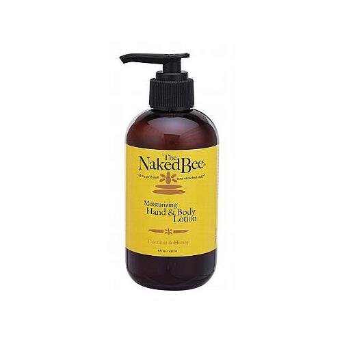 The Naked Bee Moisturizing Hand & Body Lotion, 8 Ounce, Coco
