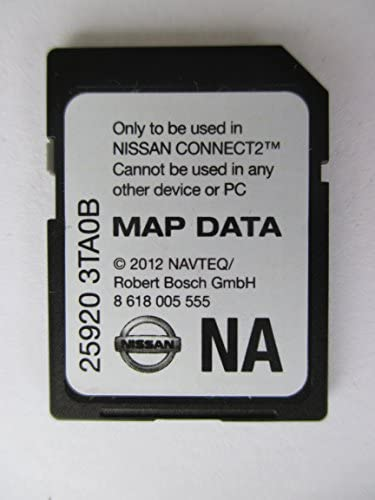 3TA0B 2013 NISSAN CONNECT SD CARD , NAVIGATION GPS MAP DATA , NAVTEQ , NA NORTH AMERICA US CANADA 25920-3TA0B ,FOR 2013 SENTRA ALTIMA SEDAN XTERRA TITAN NV200 FRONTIER NV1500 NV2500 NV3500