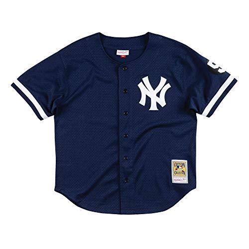 Mitchell & Ness Mariano Rivera 1999 New York Yankees Authentic Mesh BP Jersey (XX-Large) (1999 Jersey)