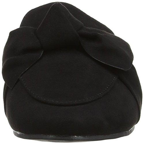Mujer Bow Negro de Punta para 130 Descubierta Dorothy Sandalias Lux Perkins Black f41886