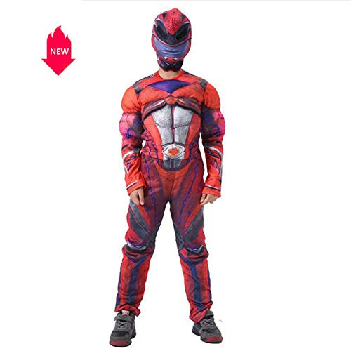 Children's Halloween Costumes Muscle Extraordinary Team Cosplay Stage Dresses Contains Head Covers -