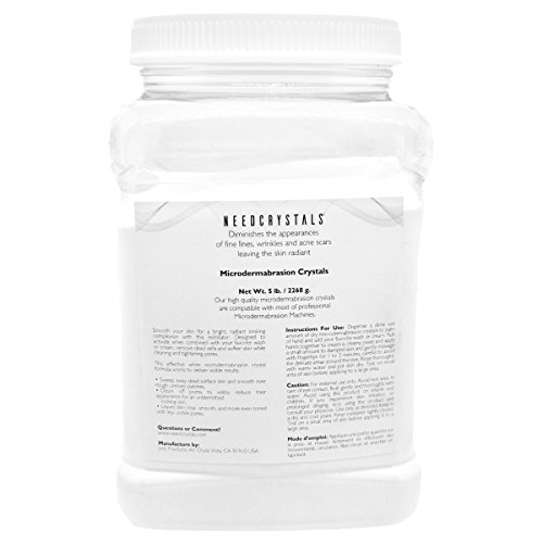 Oxide Crystals Microdermabrasion Aluminum (NeedCrystals Microdermabrasion Crystals (5 lb, 120 grit))