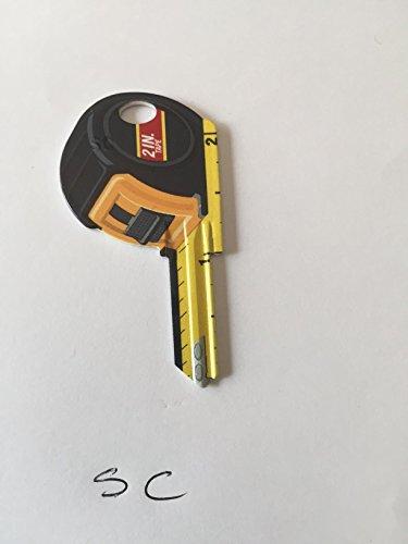 Tape Measure Schage SC1 # 68 uncut House Key
