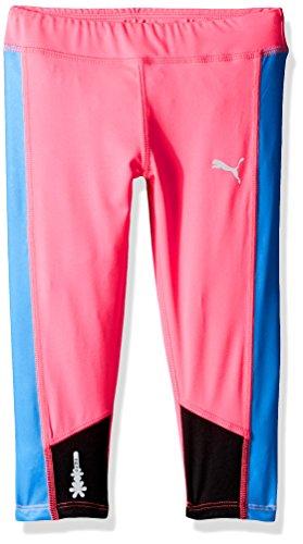Price comparison product image PUMA Big Girls' Athletic Capri Leggings, Knockout Pink, L (12/14)
