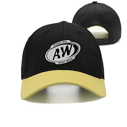 (ftuyuy erett Unisex A&W-Root-Beer-Since-1919- Vintage Caps Trucker Hat)