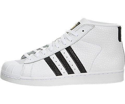 best website b789d 650b4 adidas Pro Model Animal Men US 10.5 White Sneakers