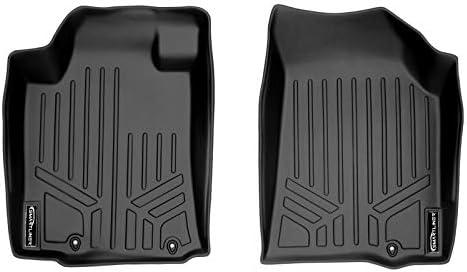 MAXLINER Floor Mats 1st Row Liner Set Black for 2013-2018 Nissan Altima Sedan (Manufactured After Nov. 2012)