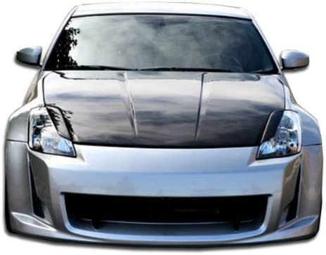 1 Piece Body Kit Brightt Duraflex ED-OED-099 AM-S Front Bumper Cover Compatible With 350Z 2003-2008