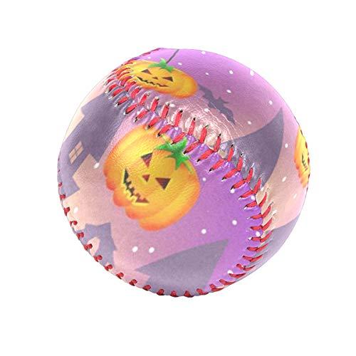 DERTYV Precision Impact's Flex-Balls Halloween Pumpkin Owl Black Cat Safety Tee Balls Indoor Baseball or Outdoor Baseballs for Kids ()