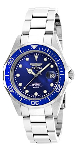 Invicta Men's 17048 Pro Diver Analog Display Japanese Quartz Silver Watch