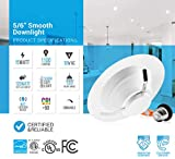 Parmida (12 Pack) 5/6 inch Dimmable LED Recessed