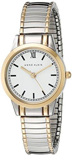Anne Klein Women's AK/1371WTTT  Two-Tone Expansion Band Watch