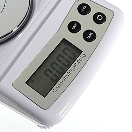 ae29012cd281 High Precision 50g 0.001g Electronic Digital Scale Jewellery Balance ...