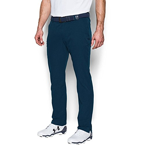 Under Armour Men's Match Play Vented Tapered Pants, Academy /Academy, 36/32