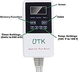 UTK Far Infrared Heating Pad Controller