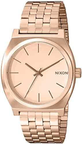 Nixon Time Teller A045897-00. Rose Gold Women's Watch (37mm. Rose Gold Metal Band/Rose Gold Watch Face)