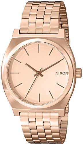 Unisex Stainless Steel Wrist Watch - Rose Gold - 6