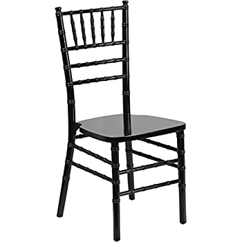 Perfect Flash Furniture HERCULES Series Black Wood Chiavari Chair