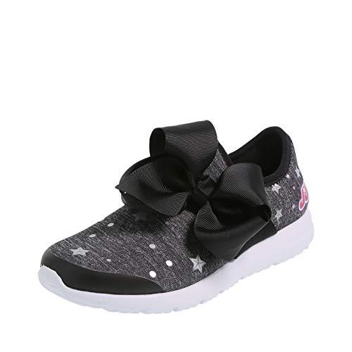 Cute Girls Sneakers - Nickelodeon Shoes JoJo Siwa Black Silver