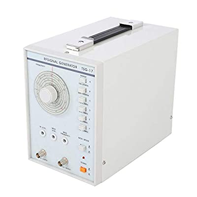 Signal Generator,Tsg-17 High Frequency Rf/Am Signal Waveform Signal Generator Counter 100 Khz to 150Mhz Frequency Meter Sine and Amplitude Modulation Wave(US Plug)